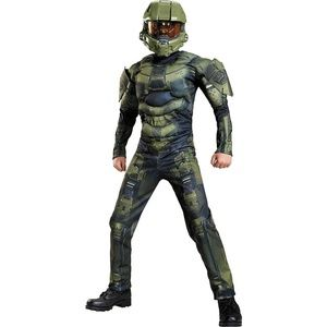 Other - Boys Master Chief Muscle Costume Classic - Halo